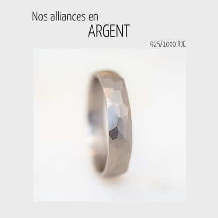 Alliances en argent