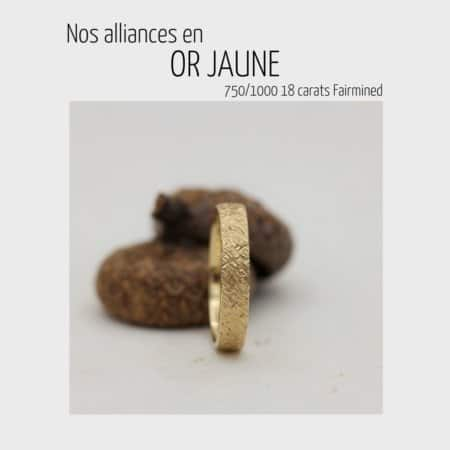 Alliances or jaune